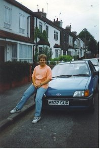 The Car I sold to go to university 1996